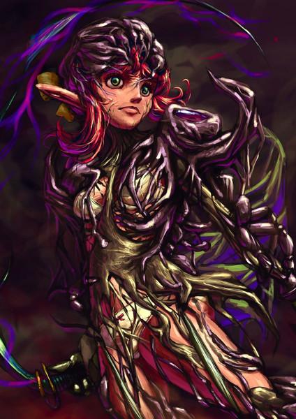 強化装甲魔女