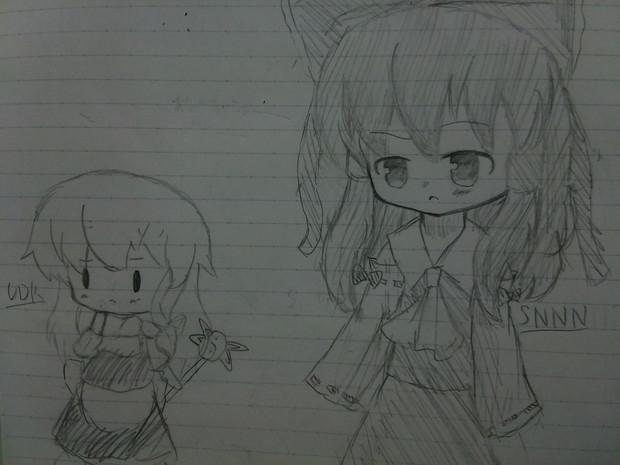 SNNN姉貴とUDKっち