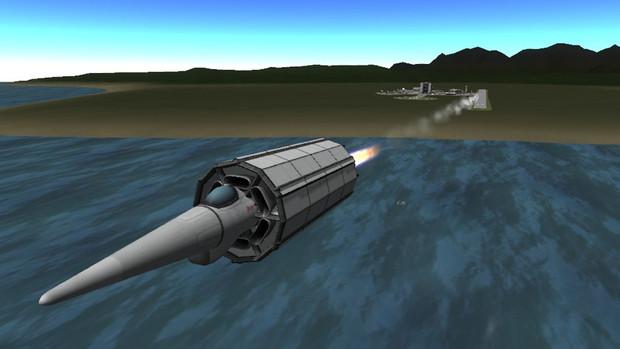 [Kerbal Space Program] 空飛ぶ筒