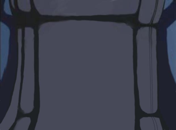 一人用のポッドの背景素材