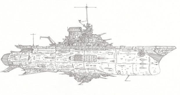 宇宙航空母艦レキシントン「自作艦」