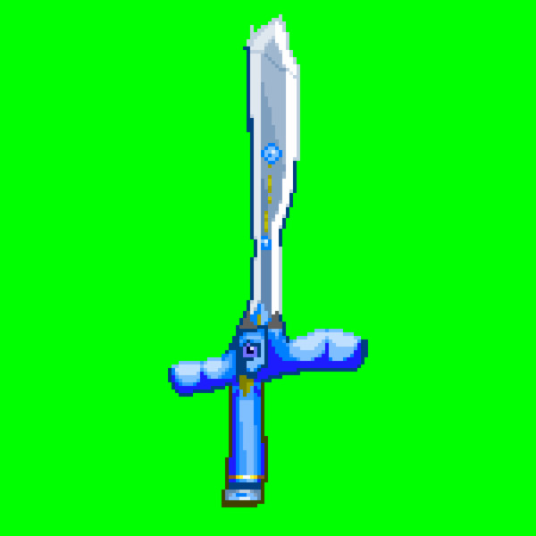 心の強さに合わせて強くなるいい剣