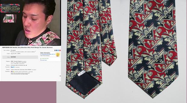 TNOKのネクタイ