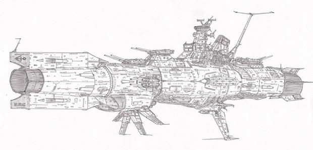 ケント級主力宇宙巡洋艦「自作艦」