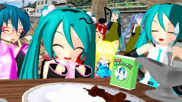 【ぷちミク誕生祭】ぷちちゃんとぐーちゃんのカレー♪