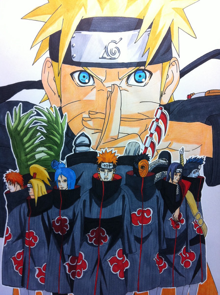 Narutoコミック41巻表紙絵 Starkiller71 さんのイラスト ニコニコ静