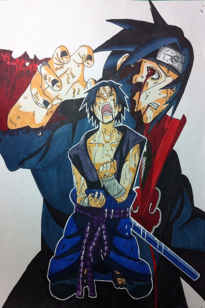 Narutoコミック43巻 表紙絵 Starkiller71 さんのイラスト ニコニコ静
