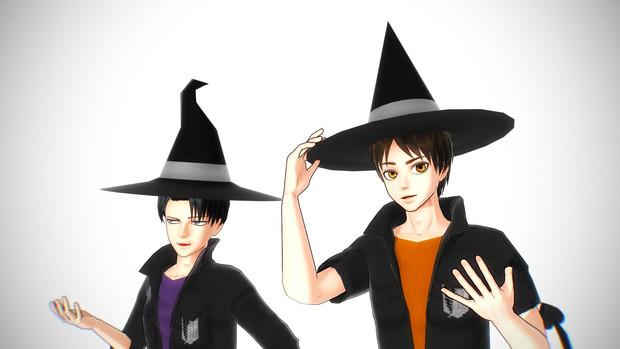 魔女の帽子【アクセサリ配布】