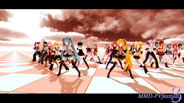 【MMD-PVF3】My computer is slow.