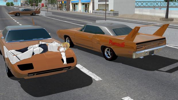 デカいウイングが特徴のあの車