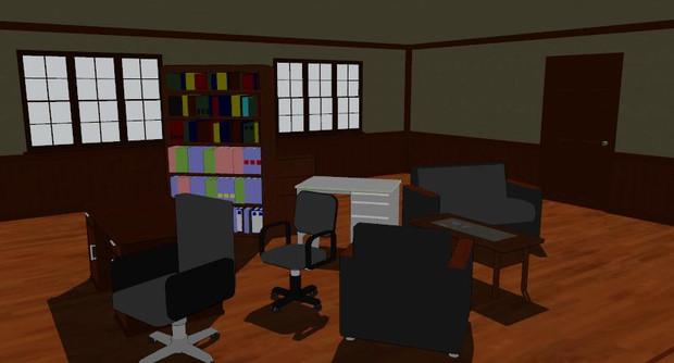 【MMD】家具セット、配布します
