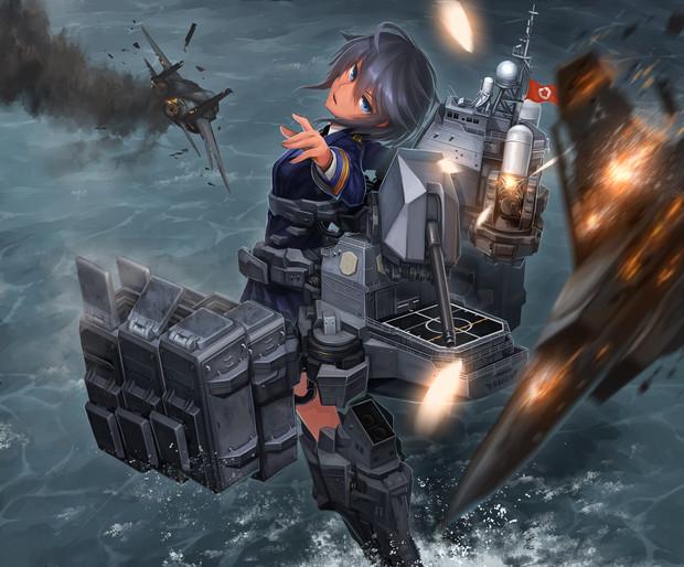 エイギル艦隊 イージス艦レイヴン
