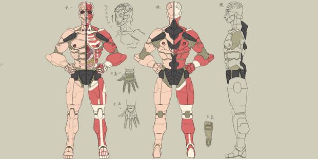 人体模型型強化プロテクター