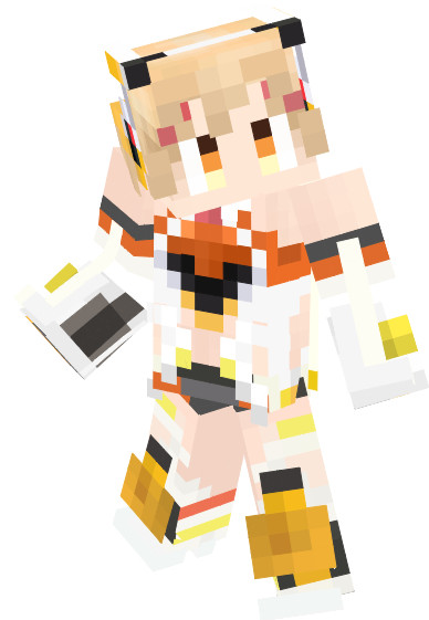 【Minecraft】限界突破G-beat スキン【戦姫絶唱シンフォギアGX】