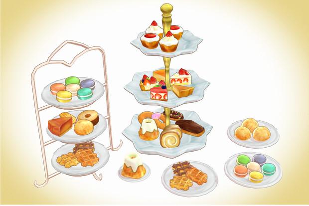 ケーキスタンドセットver1.0