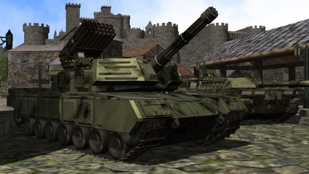 FSV-15ムンドス火力支援車 / sat...