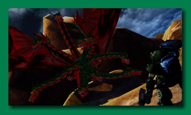【MMD】緑の人・改