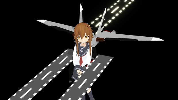 【MMD】航空駆逐艦 電
