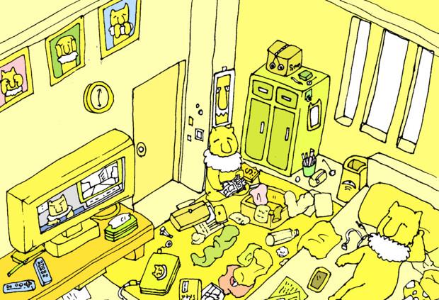 ウコン色汚部屋 チョコ さんのイラスト ニコニコ静画 イラスト