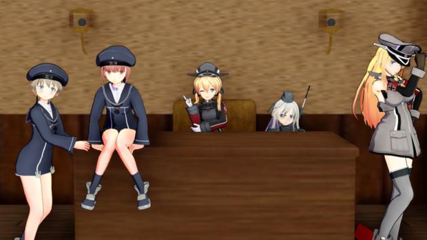 ドイツ艦に占拠された!