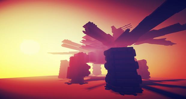 【Minecraft】謎の巨大建築