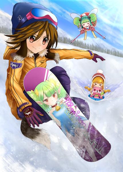 Winter☆snow play