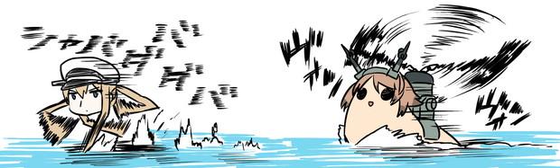 【タウイタウイの魔境】天敵はり陸奥たか