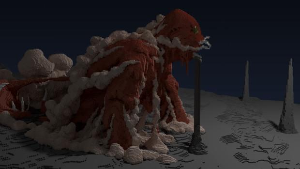 【Minecraft】ナウシカの巨神兵