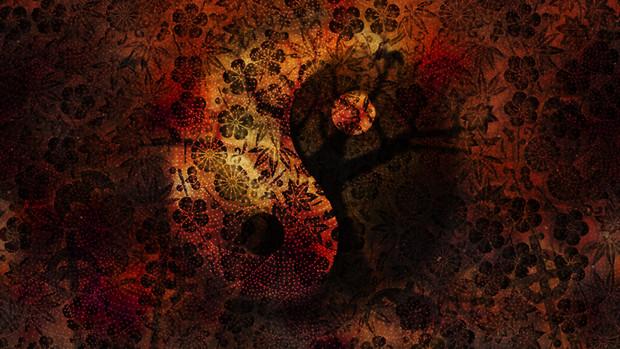和風ハロウィン 壁紙フリー素材 こーりーcoreytaiyo さんのイラスト