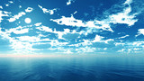 【MMDステージ配布】輝く青空 FF2【スカイドーム】