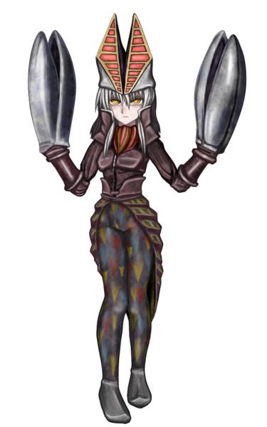 【ウルトラマン】バルタン星人(二代目)【擬人化】