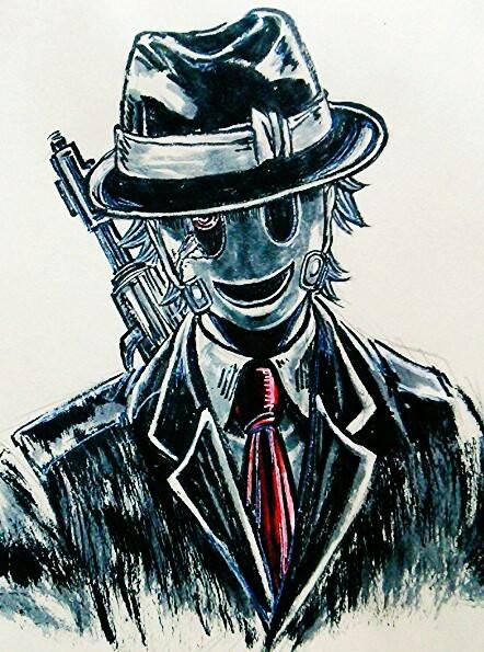 仮面の男 葉月 さんのイラスト ニコニコ静画 イラスト