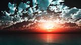 【MMDステージ配布】澄んだ雲の夕暮 FF8【スカイドーム】