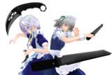 【MMD】ナイフ二本立て