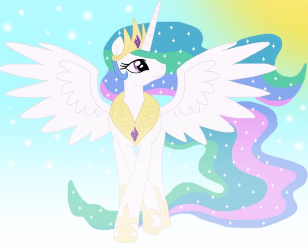 プリンセスセレスティア Princess Celestia修正版 スター