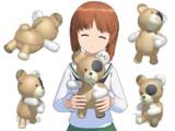【MMDモデル配布】ボコられグマの「ボコ」