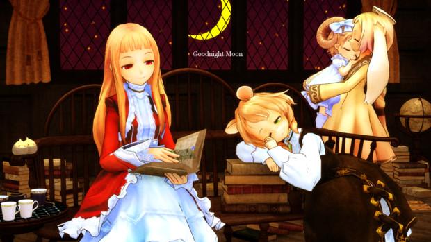 Goodnight Moon【第一回MMD静止画祭】