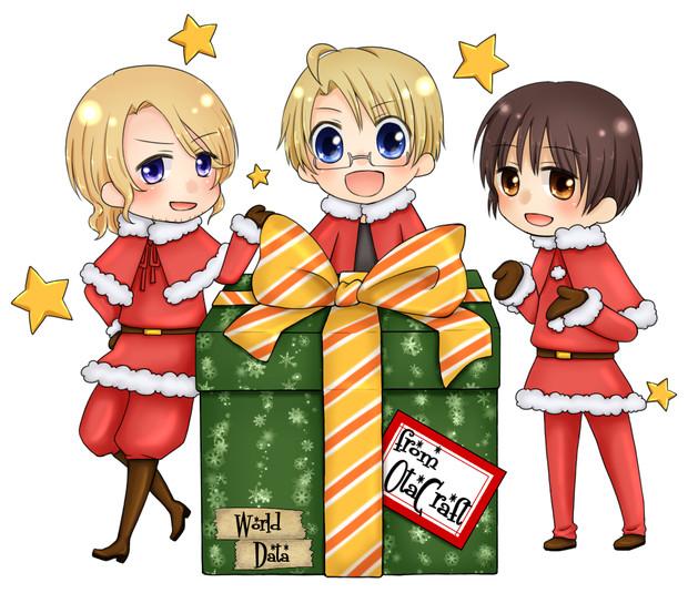 【APヘタリア】オタクリスマス★