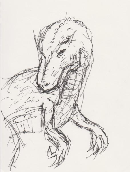 恐竜 ラクガキ