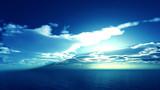 【MMDステージ配布】朝空の輝き HH8【スカイドーム】