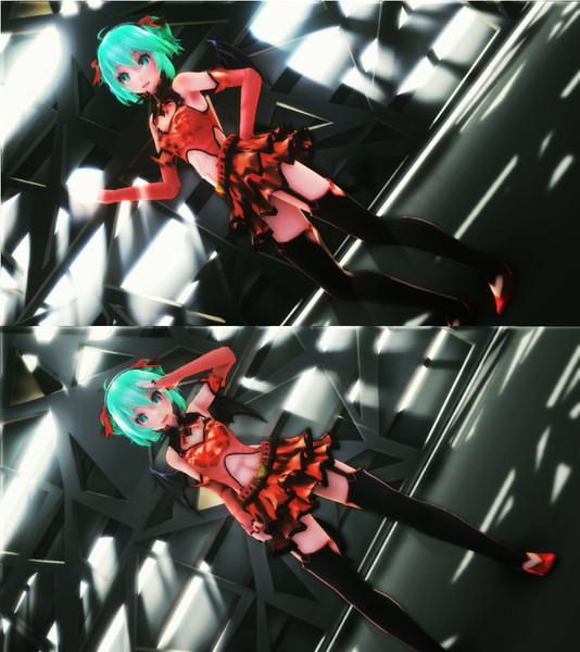 【MMD】 Sweet Devil 【Tda式改変Miku Heart Hunter】【修正版】