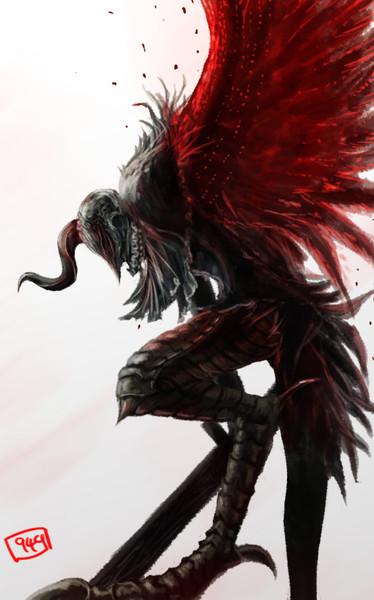 #あなたの狩人が獣になった姿を描く