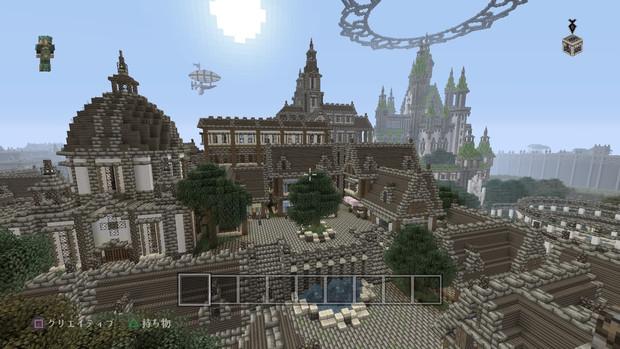 【Minecraft】PS4で街作り中!!!  街並み