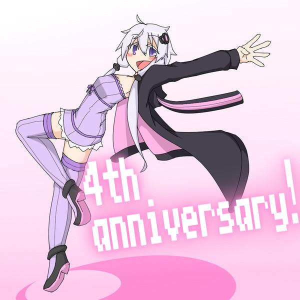 ゆかりさん4周年おめでとう!
