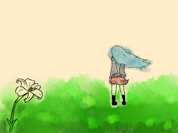 百合と女の子