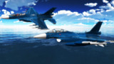 F-2の飛翔