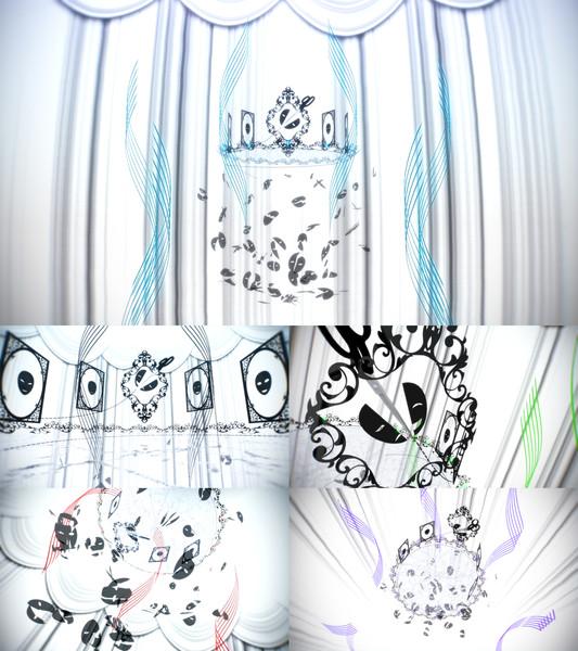 【MMDステージ】シルエットステージ(face)