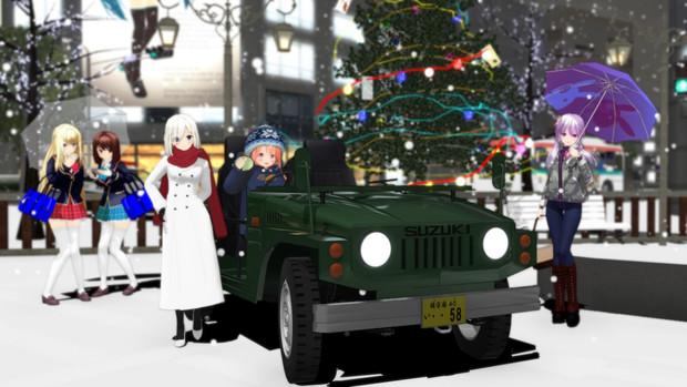 もうクリスマスなんですね…。