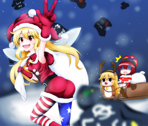 メリークリスマス! クラウンサンタのプレゼント!!