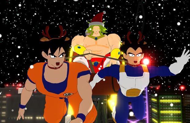 クリスマスイヴの夜を伝説の超サイヤ人(以下2名)が襲った
